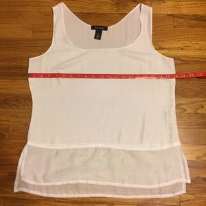 White House Black Market Tank Top Blouse